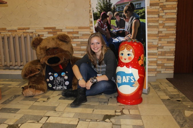 Долго об этом мечтала... наконец-то я в России!